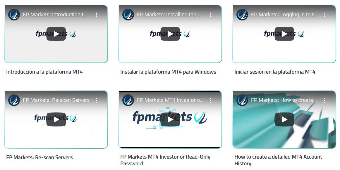 FP Markets Formación