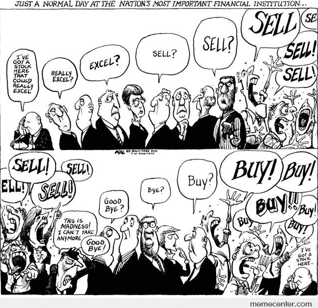 Invertir en los maniquíes del mercado de valores Psicología del mercado de valores