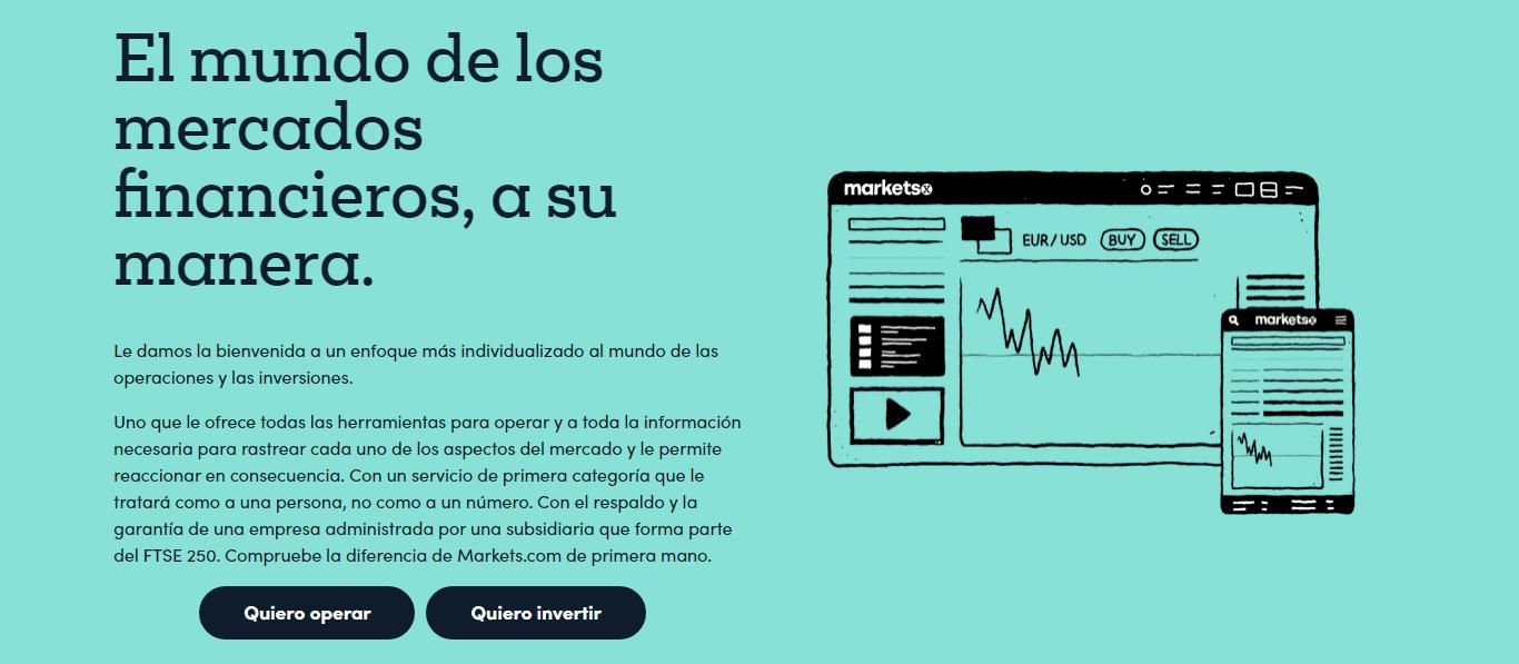 Markets.com Apertura de cuenta
