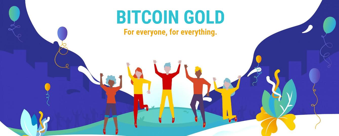 Revisión de Bitcoin Gold sitio